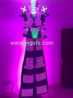 Stilts Walker LED Robot Costume